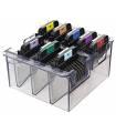 ست شانه راهنمای ماشین اصلاح وال Wahl Stainless Steel Color Coded Cutting Guides