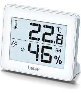 دماسنج و رطوبت سنج بیورر Beurer HM16 Thermometer And Hygrometer