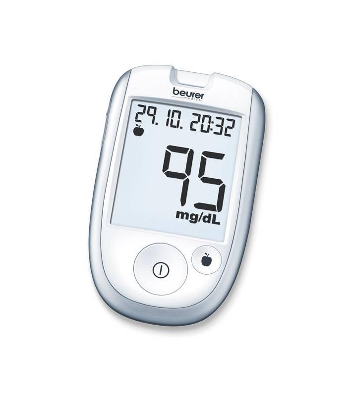 دستگاه تست قند خون بیورر مدل Beurer GL42 Blood Sugar Meter |