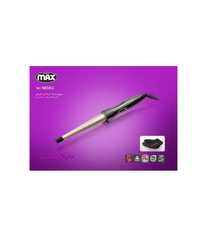 فر کننده مو زیگ زاگ سرامیکی پرومکس Promax Curely Hair 4858G