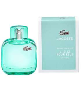 عطر زنانه لاکوست ادو لاکوست ال 12 12 پور ال نچرال Lacoste Eau de Lacoste L 12 12 Pour Elle Natural for women