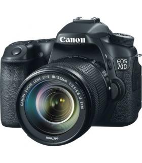 دوربین عکاسی دیجیتال کانن Canon EOS 70D+18-135mm IS STM Lens Digital Camera