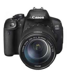 دوربین عکاسی دیجیتال کانن با لنز قابل تعویض Canon EOS 700D / Rebel T5i Kit 18-135mm IS STM Digital Camera