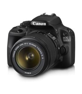دوربین عکاسی دیجیتال کانن Canon EOS 100D Kit EF S18-55 IS Camera