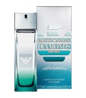 عطر مردانه جورجیو آرمانی دیاموند سامر فرش Giorgio Armani Emporio Armani Diamonds Summer Fraiche