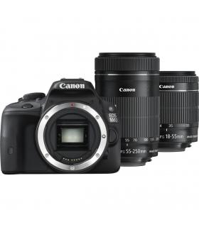 دوربین عکاسی دیجیتال کانن با دو لنز Canon Kiss X7 (100D) Digital Camera With IS II Lenses