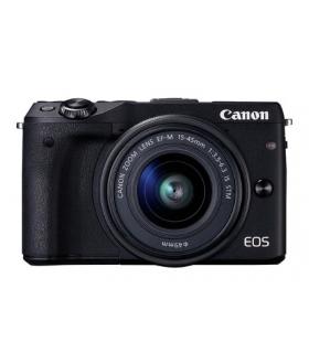 دوربین عکاسی دیجیتال کانن بدون آینه Canon EOS M3 Mirrorless Digital Camera With 15-45mm EF-M Lens