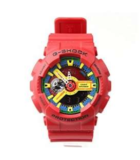 ساعت مچی مردانه عقربه ای کاسیو جی شاک مدل Casio G-Shock GA-110FC-1ADR