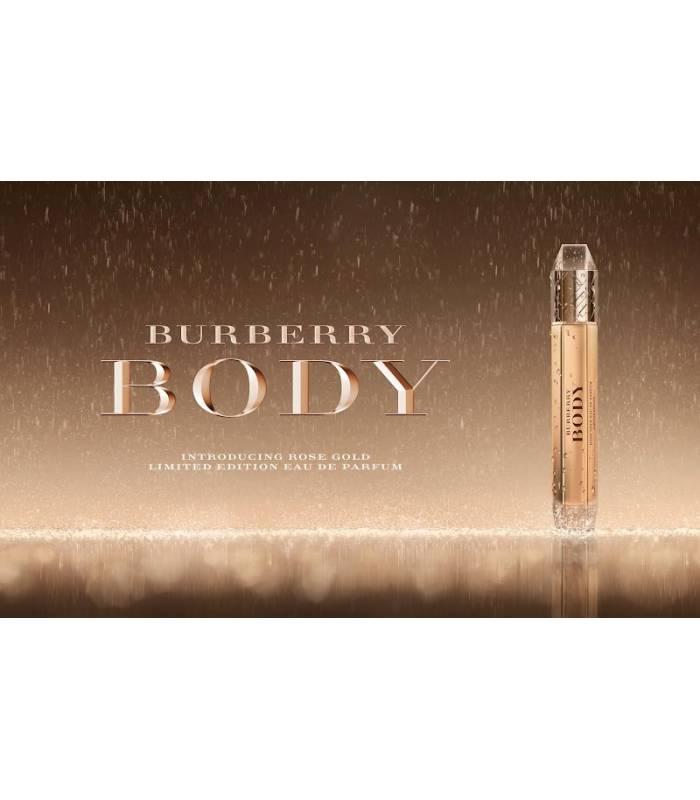 عطر زنانه باربری بادی گلد Burberry Body Gold