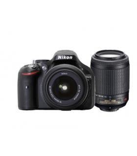 دوربین عکاسی دیجیتال نیکون با لنز Nikon D5200 With 18-55 mm VRII And 55-200 mm VRII Digital Camera