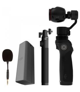 دوربین فیلمبرداری با کیت باتری و میکروفون و گیمبال DJI Osmo Handheld 4K Camera +BATTERY+MIC