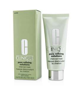 ماسک پاک کننده منافذ پوست زغالی کلینیک Clinique Pore Refining Solutions Charcoal Mask