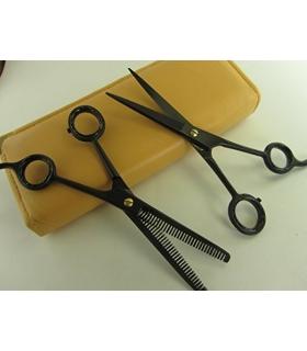 ست قیچی آرایشگری سیزر پلاس Professional Hair Cutting & Thinning Scissors