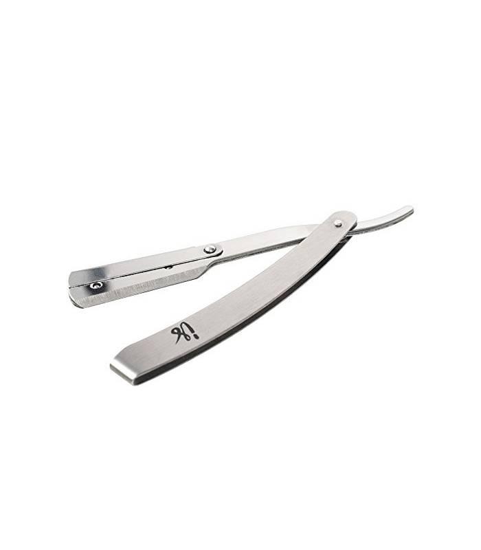 تیغ آرایشگری و اصلاح حرفه ای اینستااسکین کار Professional Barber Razor Stainless Steel Straight Edge Razor  