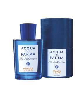 عطر مردانه آکوا دی پارما بلو مدیترینیو آرانسیا دی کاپری ادو تویلت Acqua Di Parma Blu Mediterraneo Arancia Di Capri EDT For men