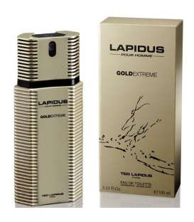 عطر مردانه تد لاپیدوس پور اوم گلد اکستریم ادو تویلت Ted Lapidus Pour Homme Gold Extreme Eau De Toilette for Men