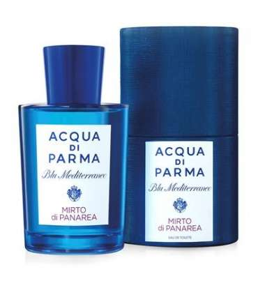 عطر مردانه آکوا دی پارما بلو مدیترینیو میرتو دی پانارئا ادو تویلت Acqua Di Parma Blu Mediterraneo Mirto Di Panarea EDT For men