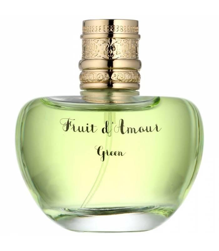 عطر زنانه امانوئل اونگارو فروت دامور گرین ادو تویلت Emanuel Ungaro Fruit de Amour Green Eau De Toilette for Women