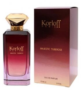 عطر زنانه کارلوف پاریس مجستیک تیوب رز ادو پرفیوم Korloff Paris Majestic Tuberose Eau De Parfum for Women