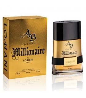 عطر مردانه لومانی ای بی اسپریت میلیونر ادو تویلت Lomani AB Spirit Millionaire Eau De Toilette For Men