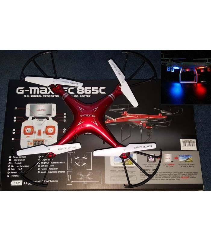 کواد کوپتر جی مکس تک دارای دوربین وای فای G-Maxtec G-865C