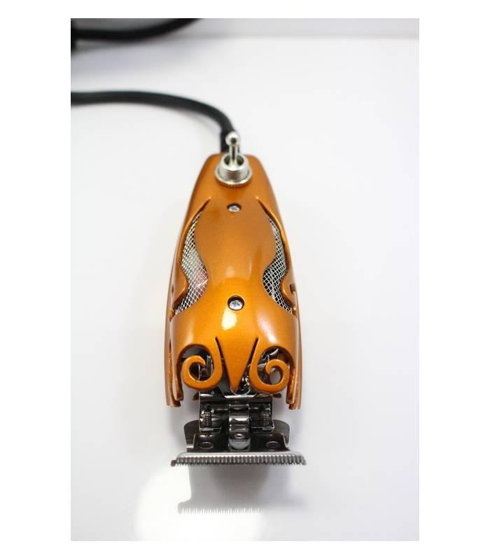 ماشین اصلاح تریمر سفارشی دونجی Donjae Burnt Copper Scroll Design Andis GTX T-Outliner
