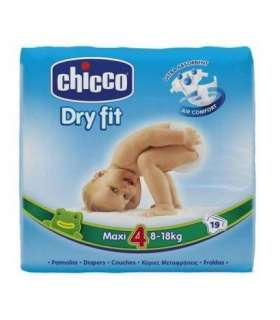 پوشک چیکو 19 عددی Chiccos Diaper Size 4 Pack of 19