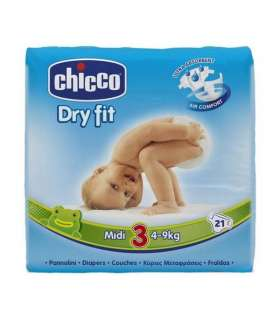 پوشک چیکو 21 عددی Chicco Size 5 Diaper Pack of 3
