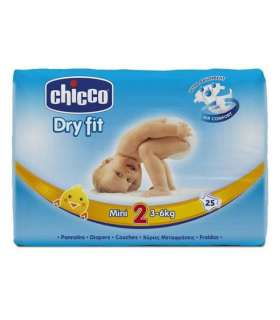 پوشک چیکو 25 عددی سایز 2 Chicco Diaper Size 2 Pack of 25