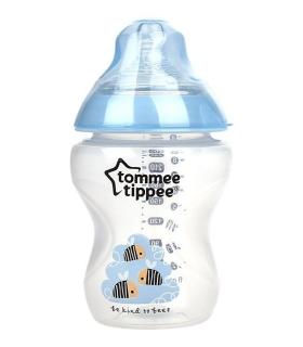 شیشه شیر تامی تیپی 260 میلی لیتر Tommy Tippee T422501 Baby Bottle 260 Ml
