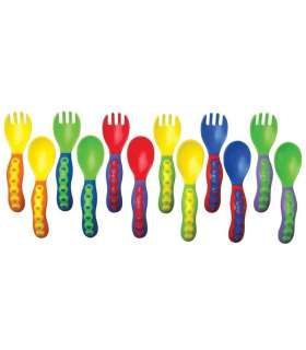 قاشق و چنگال نابی Nuby ID5253 Spoon and Fork