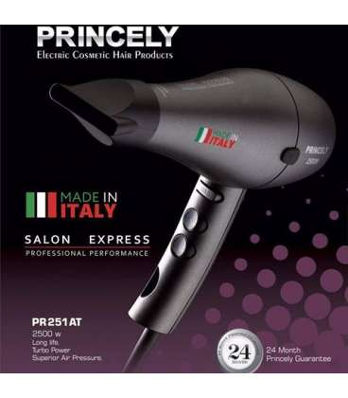 سشوار حرفه ای پرنسلی پی آر 251 Princely PR251AT Hair Dryer