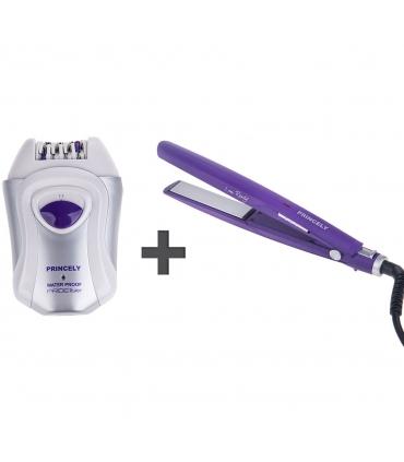 ست اتو مو اپیلاتور پرنسلی 320 Princely PR523 Epilator Hair Straightener