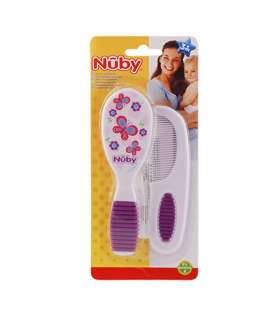 شانه و برس کودک نابی Nuby id711 Brush and Comb