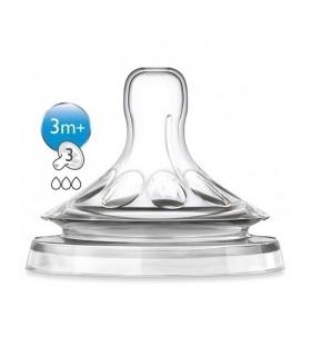 سرشیشه فیلیپس اونت بسته 2 عددی 3 قطره Philips Avent A653/27 Bottle Teats
