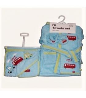 ست حوله 5 تکه مادرکر Mothercare 1662 Baby Towel Piece