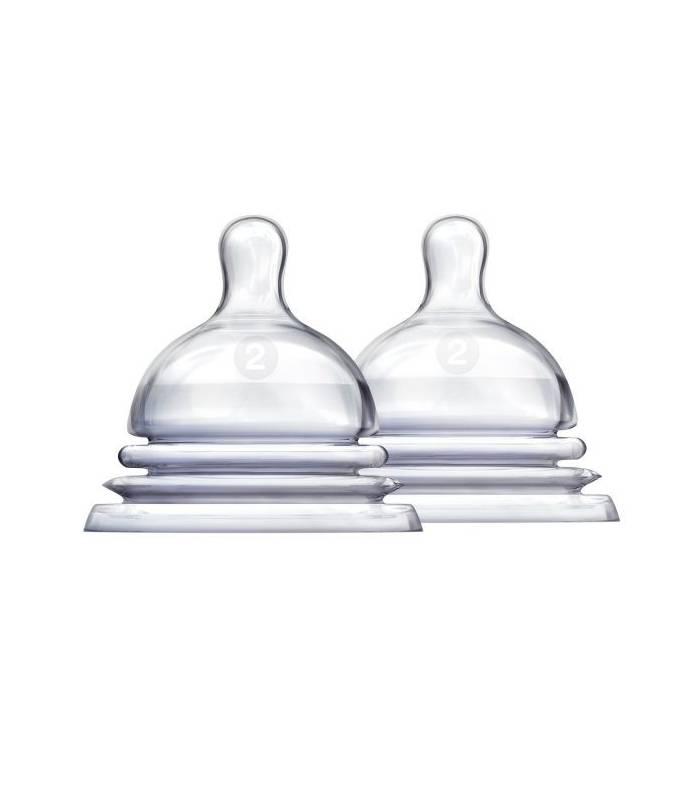 سرشیشه مانچکین بسته 2 عددی 2 قطره Munchkin 1853 Bottle Teats