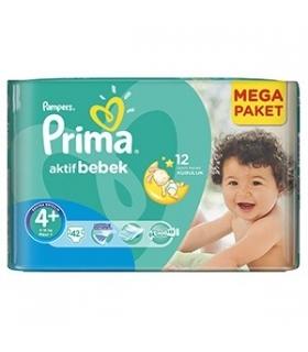 پوشک پمپرز پریما بسته 42 عددی سایز 4+ Pampers Prima 1773 Diaper Size 4 Pack of 42