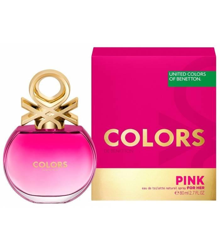 ادکلن زنانه بنتون کالرز دی بنتون پینک ادو تویلت Benetton Colors de Benetton Pink Eau De Toilette For Women