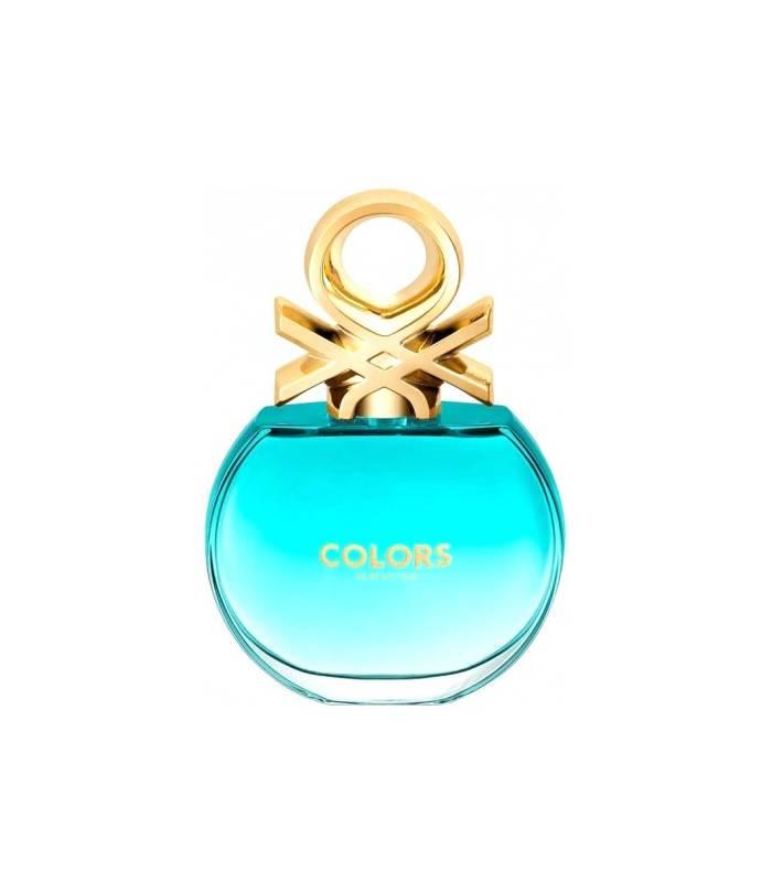 ادکلن زنانه بنتون کالرز دی بنتون بلو ادو تویلت Benetton Colors de Benetton Blue Eau De Toilette For Women