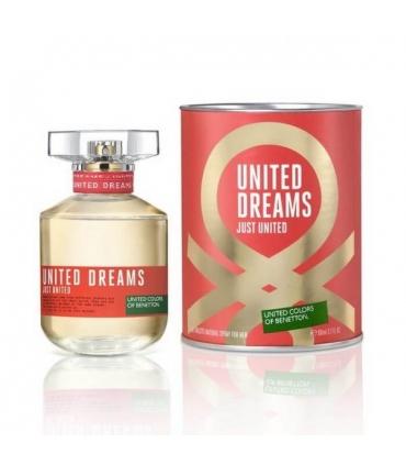 عطر زنانه بنتون یونایتد دریمز جاست یونایتد ادو تویلت Benetton United Dreams Just United Eau De Toilette for Women