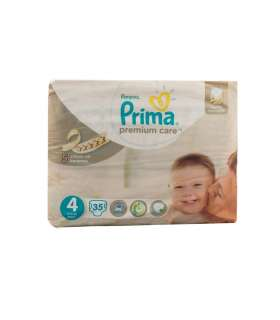 پوشک پریما پمپرز بسته 35 عددی سایز 4 Prima Pampers 237 Diaper Size 4 Pack of 35