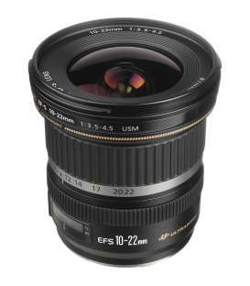 لنز دوربین عکاسی کانن Canon lens EF-S 10-22mm USM