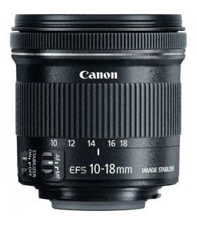 لنز دوربین عکاسی کانن Canon Lens EF-S 10-18mm STM