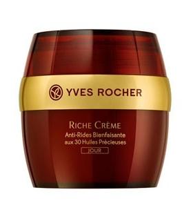 کرم ضد چروک روز ریچ کرم ایوروشه Yves Rocher Riche Creme wrinkle Reducing Day Cream