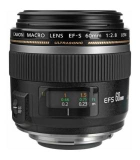 لنز دوربین کانن ماکرو Canon Lens EF-S 60mm f/2.8 Macro USM