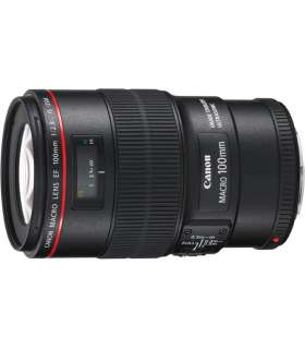 لنز دوربین کانن ماکرو Canon Lens EF 100mm f/2.8L Macro IS USM