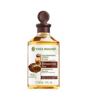 روغن ترمیم کننده موهای آسیب دیده ایوروشه Yves Rocher Hair Repair Oil