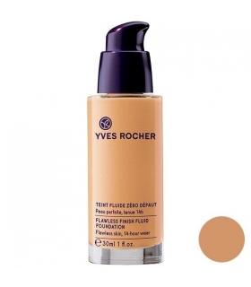 کرم پودر ایو روشه مدل300 Yves Rocher Flawless Finish Fluid Rose 300 Foundation 30ml