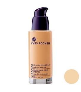 کرم پودر پمپی ایوروشه رنگ 100 بژ Yves Rocher Flawless Finish Fluid Beige 100